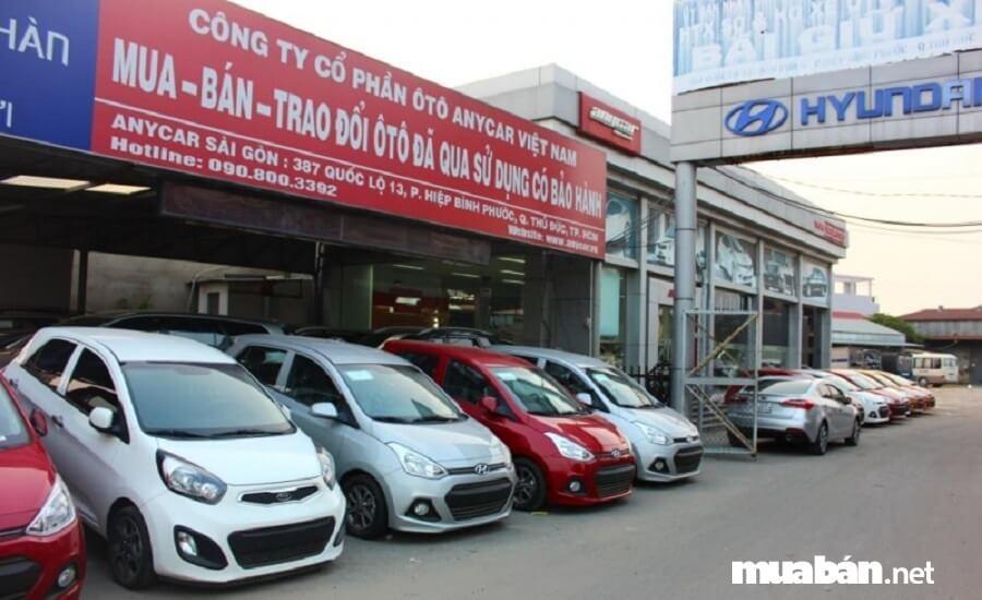 Anycar là hệ thống chuyên kinh doanh các loại ô tô cũ còn tốt, ô tô cũ nhập khẩu.
