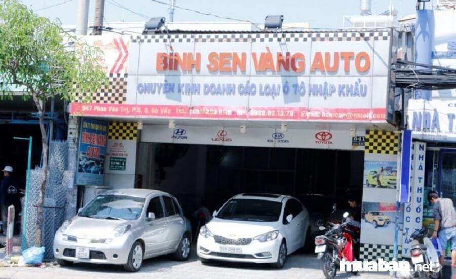 Bình Sen Vàng Auto là nơi quý khách có thể tìm thấy những chiếc xe hơi cũ nhưng còn zin 100%, chính hãng.