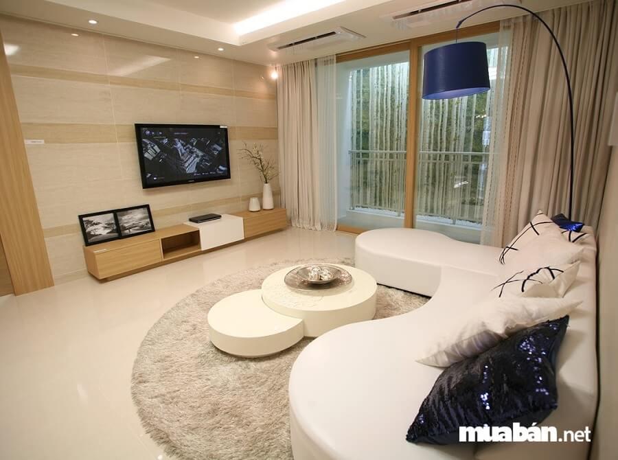 Cantavil Premier chỉ gồm 3 loại diện tích căn hộ chính là 111.03 m², 125.15 m², 176.53 m2