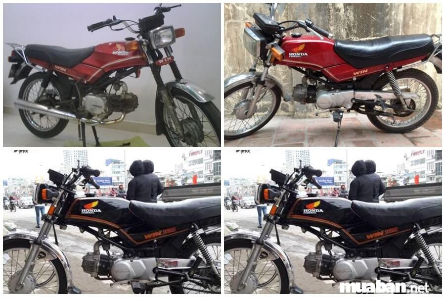 Đời xe Win đầu tiên xuất hiện tại Việt Nam với màu đỏ.