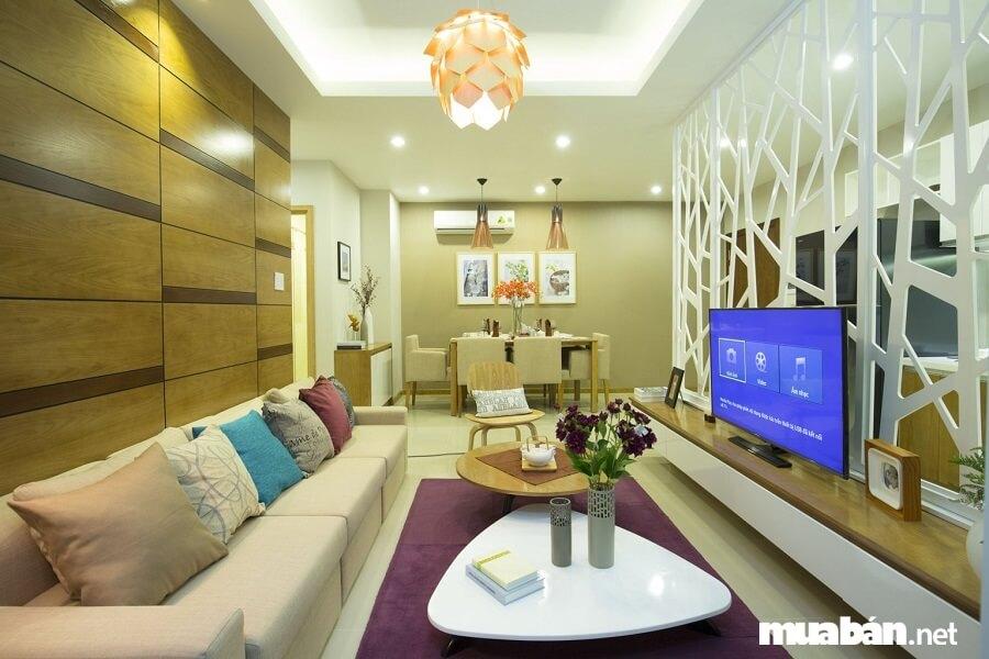 Chủ đầu tư dự án muốn mang lại một giải pháp nhà ở toàn diện nhất cho khách hàng nên đã mạnh tay đầu tư những thiết bị thông minh trong từng căn hộ.