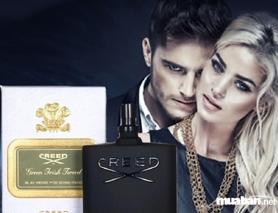 Chai nước hoa nam Aventus của thương hiệu Creed.