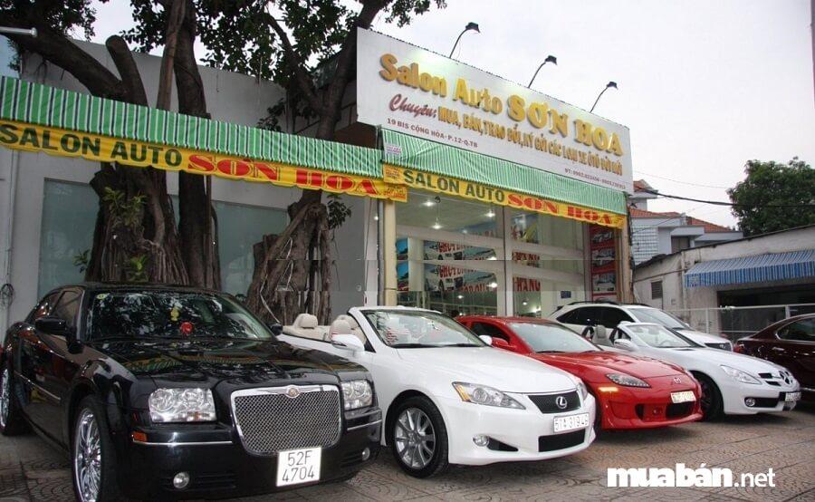 Salon Auto Sơn Hoa là một trong những bán xe hơi cũ tphcm tin cậy nhất hiện nay.
