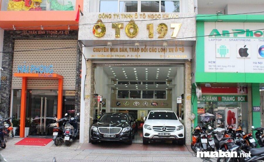 Salon ô tô 197 là một trong những nhà cung cấp các dòng xe ô tô đã qua sử dụng