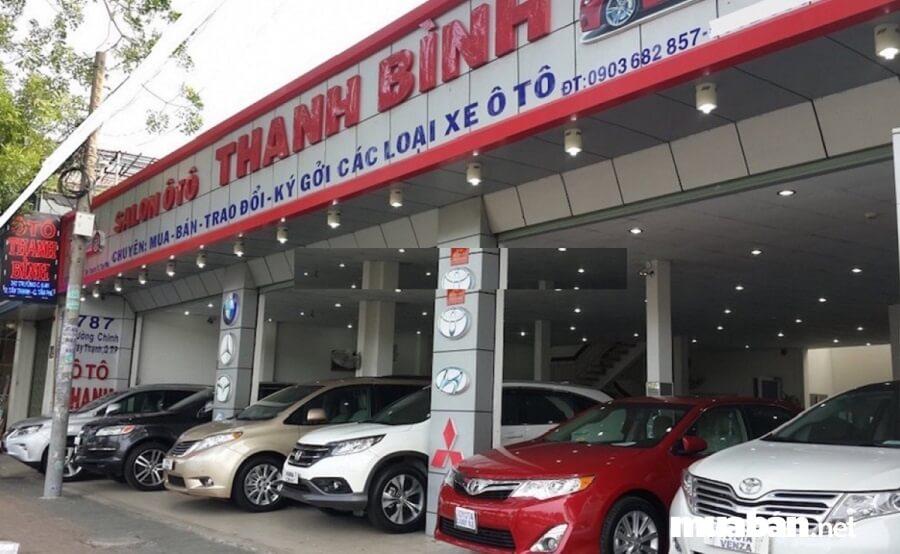 Tại Salon ô tô Thanh Bình, khách hàng sẽ tìm thấy những chiếc xe cũ có chất lượng tốt.