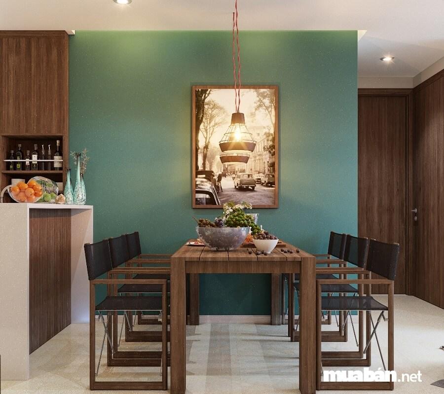 Dự án Tara Residence còn ghi điểm cộng lớn với khách hàng bởi phong cách thiết kế nội thất cổ điển.