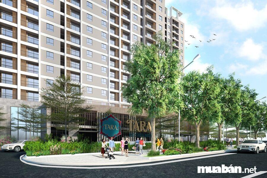 Tara Residence là một trong số ít dự án có được mức giá tốt nhất nhì khu vực.