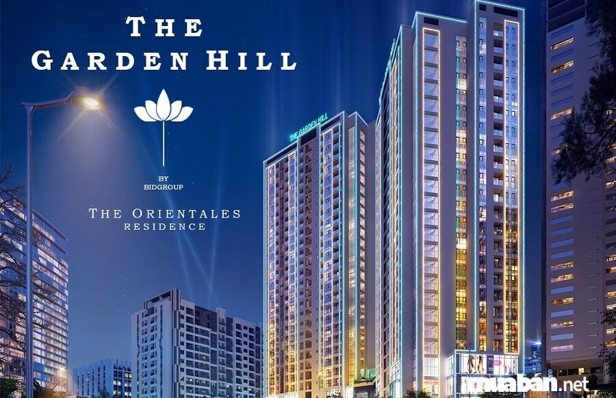 Dự án hỗn hợp Văn phòng, TTTM và Căn hộ cao cấp The Garden Hill.