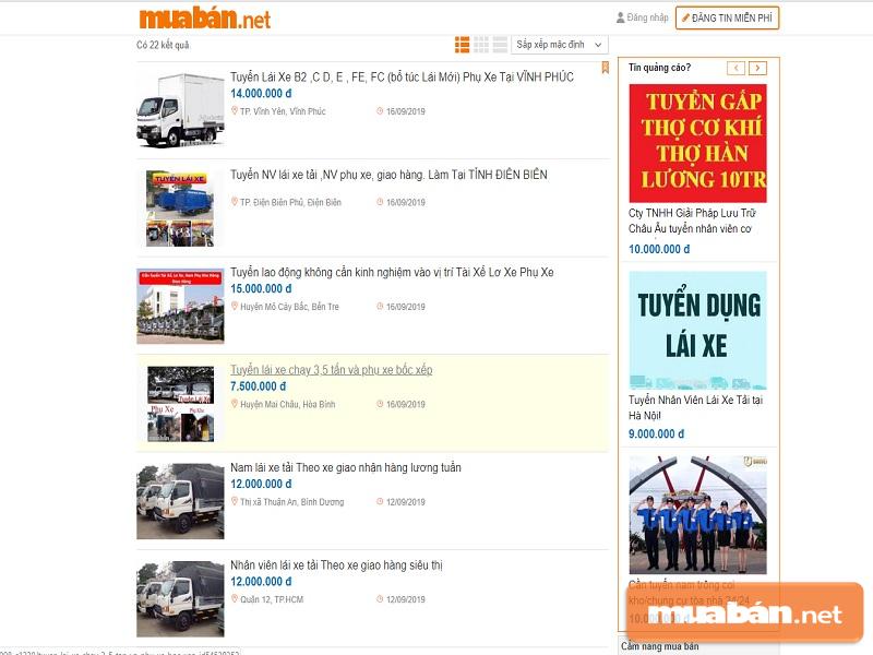 Nên lựa chọn những tin đăng uy tín nhất trên Muaban.net nhé