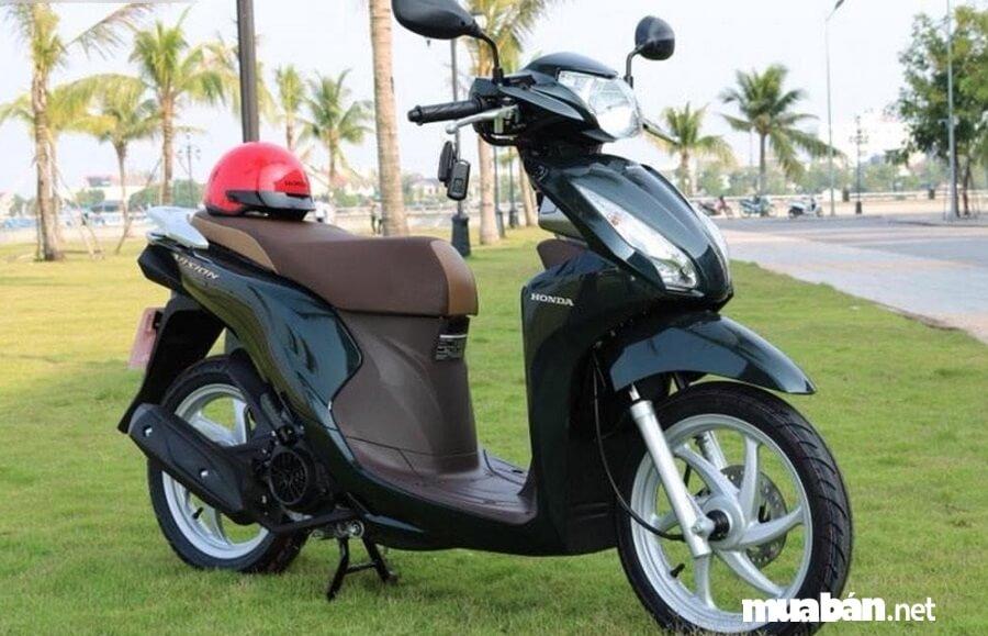 Xe máy Honda Vision 2019 phiên bản thường có giá đề xuất rẻ hơn hai phiên bản còn lại, chỉ 30 triệu đồng.