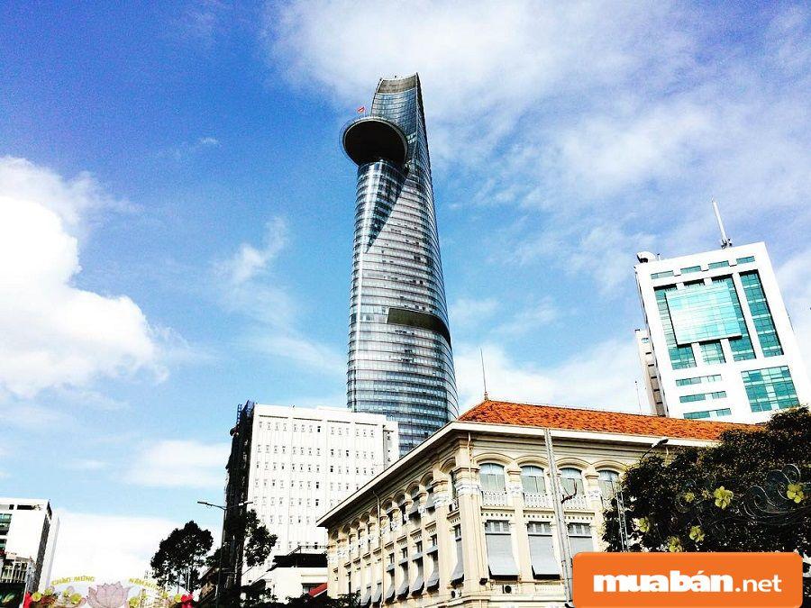 Xung quanh tòa tháp Bitexco này có khá nhiều tiện ích ngoại khu hiện đại.