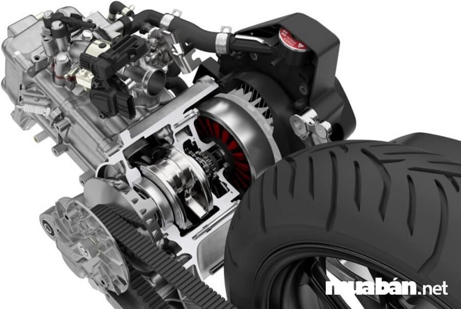 Hệ thống Hybrid bao gồm động cơ xăng với dung tích 150 phân khối cung cấp năng lượng chính. Và mô tơ hỗ trợ đóng vai trò trợ lực cho động cơ xăng.