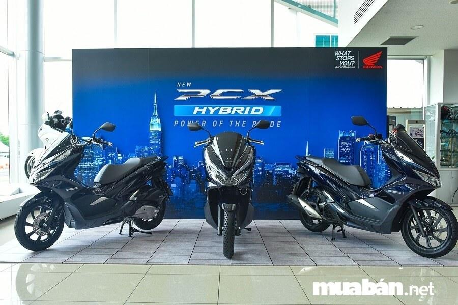Honda PCX phiên bản Hybrid 2019 có giá đề xuất là 90 triệu đồng.