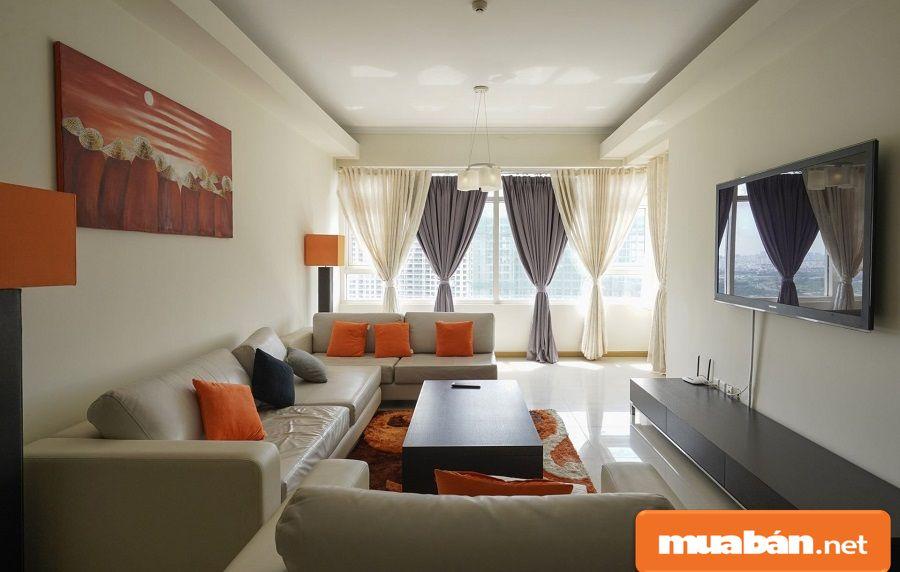 Tiện nghi các căn hộ đều được đầu tư khá sang trọng, hiện đại với các thiết bị cao cấp.