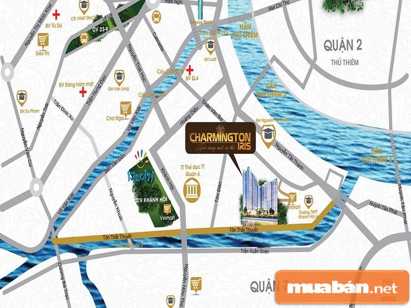 Charmington sở hữu kết nối giao thông vô cùng hoàn hảo