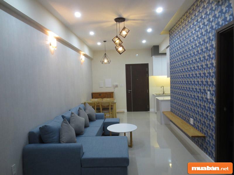 Không gian căn hộ nhỏ thích hợp để cho thuê