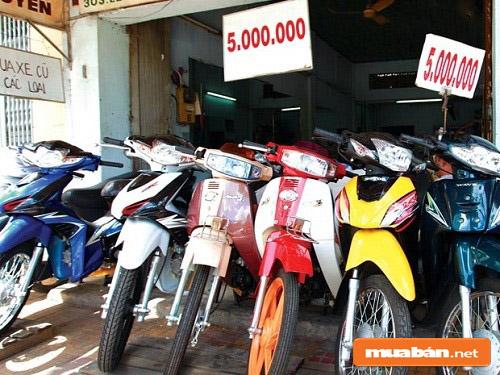 cửa hàng xe máy cũ ở Mỹ Tho