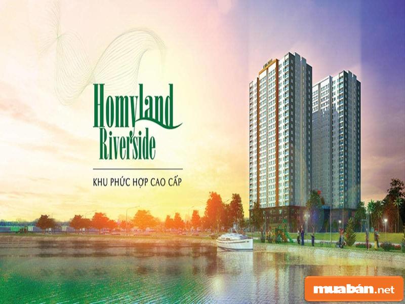Homyland Riverside là cái tên nổi bật trên thị trường