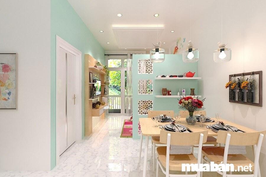 Căn hộ chung cư Lê Thành có thiết kế diện tích đa dạng từ 65,9 - 121 m2.