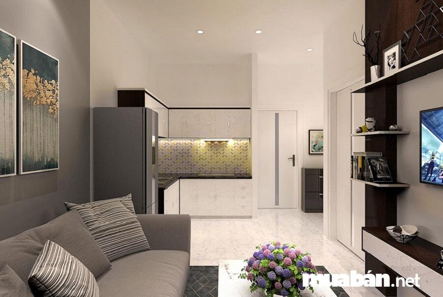 Chỉ khoảng chỉ từ 491 triệu đồng, khách hàng có thể sở hữu một căn hộ hai phòng ngủ