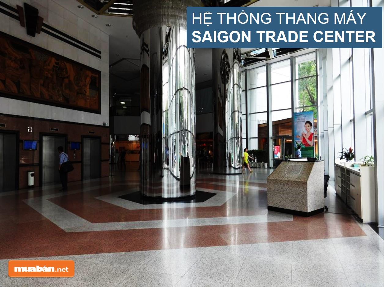 Hệ thống thang máy Saigon Trade Center