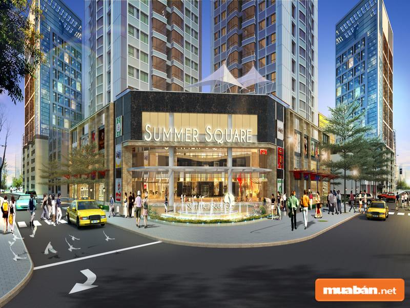 Summer Square là dự án đang nhận được sự chú ý lớn