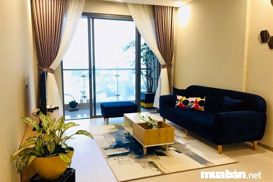 Dự án gồm 1,905 căn hộ chung cư cao cấp.