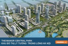 Phối cảnh The Manor Central Park phase 1 & phase 2