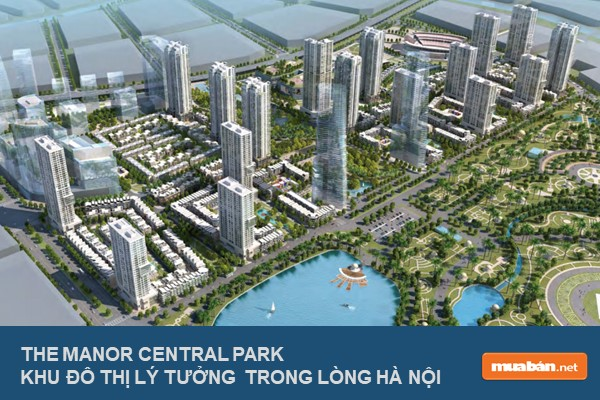 Phối Cảnh The Manor Central Park Phase 1 &Amp; Phase 2