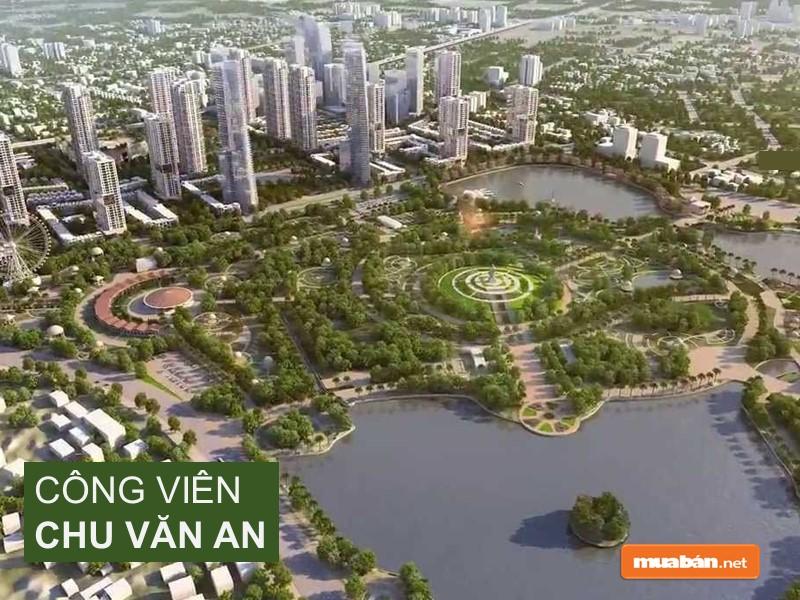 The Manor Central Park cạnh công viên Chu Văn An