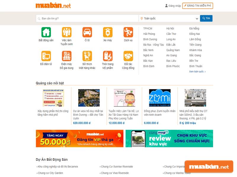 Muaban.net sẽ giúp bạn tìm nhà hiệu quả