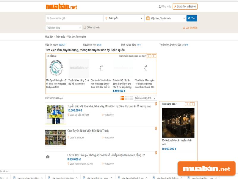 Đến với Muaban.net, bạn sẽ tìm việc làm Thái Bình theo cách hiệu quả nhất