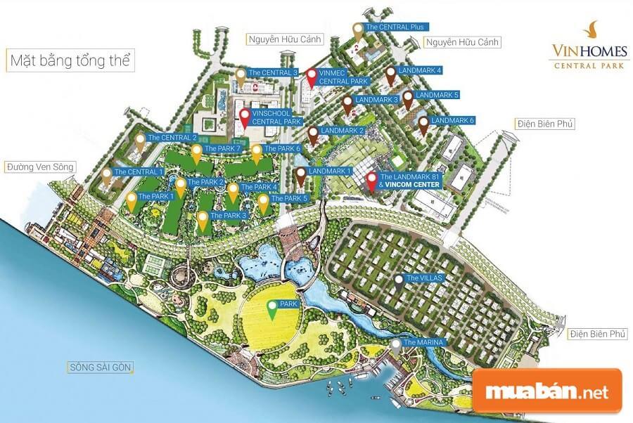 Vinhomes Central Park được đầu tư lên tới 30.000 tỷ đồng