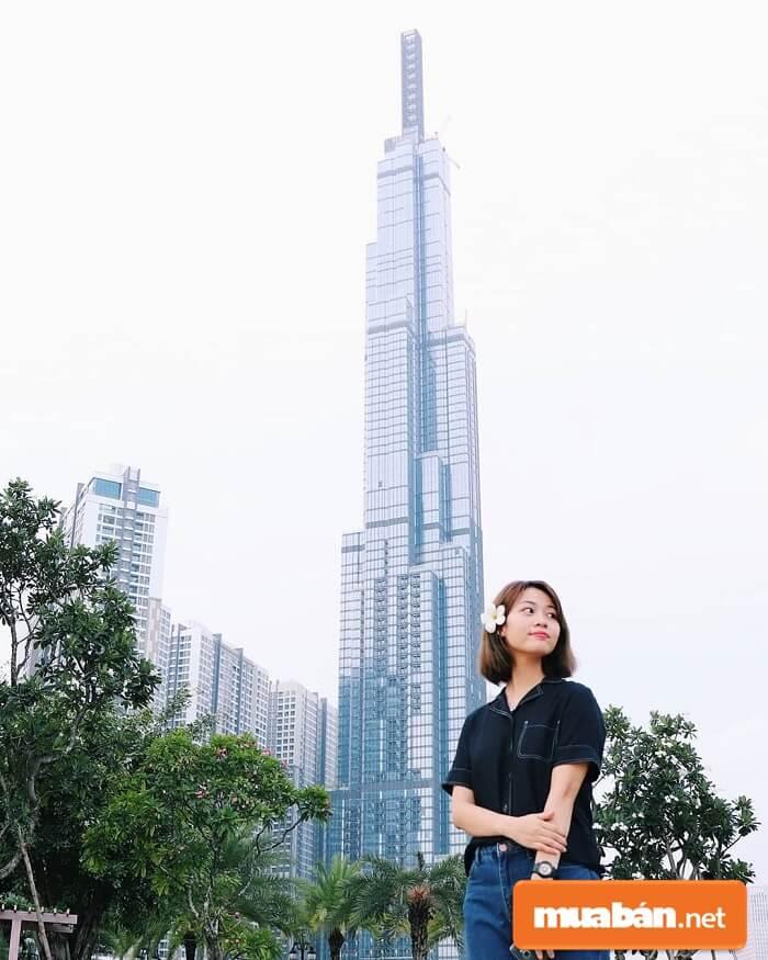 Tòa tháp Landmark cao 81 tầng gồm 3 tầng hầm hiện tại đang là tòa nhà cao nhất Việt Nam,