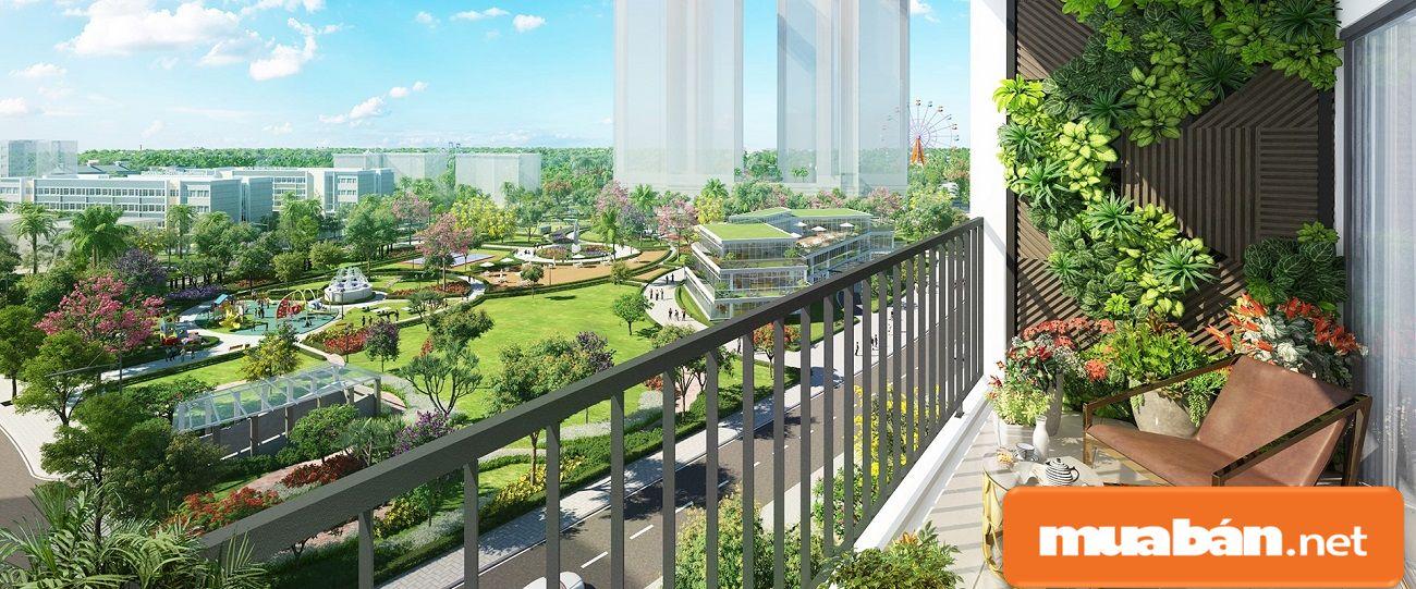 Mọi thiết kế trong căn hộ đều được chủ đầu tư tính toán khá chi tiết.
