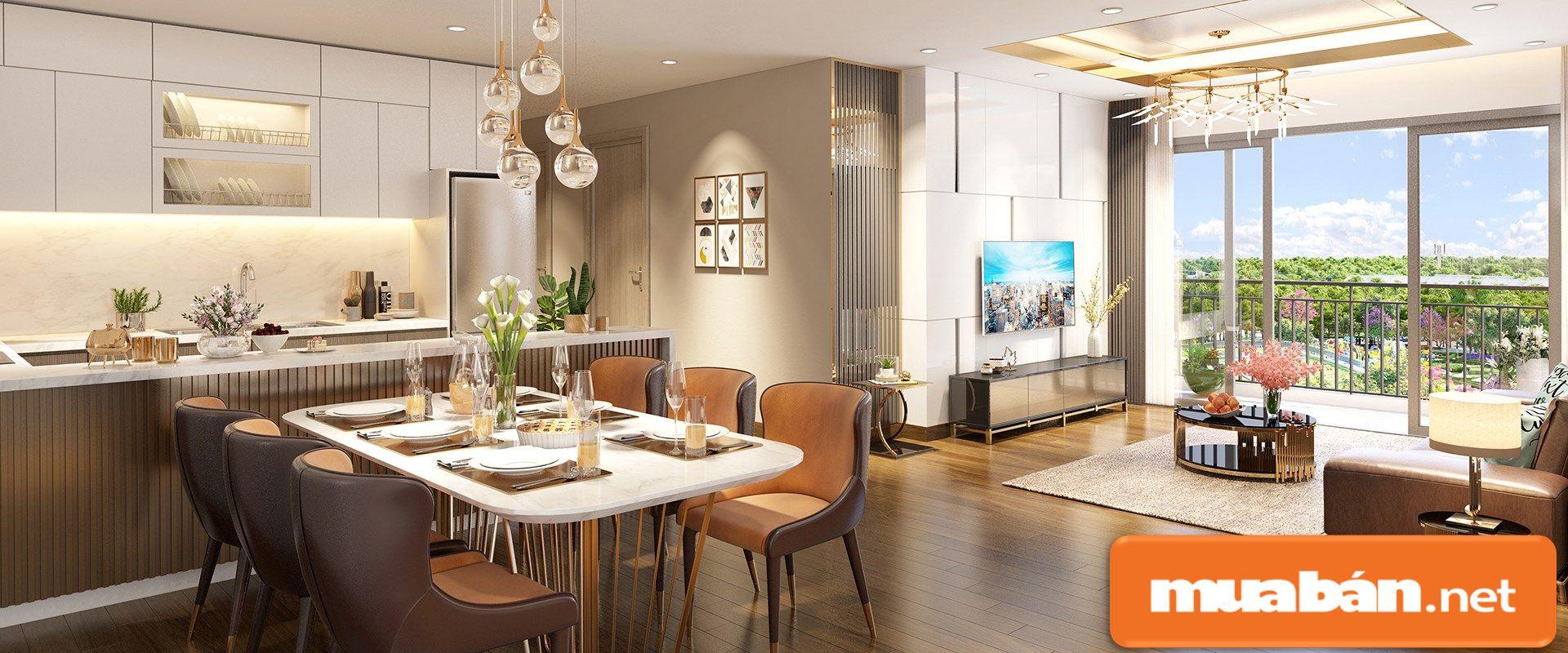 Các căn hộ trong dự án có nhiều diện tích linh hoạt cho khách hàng lựa chọn.