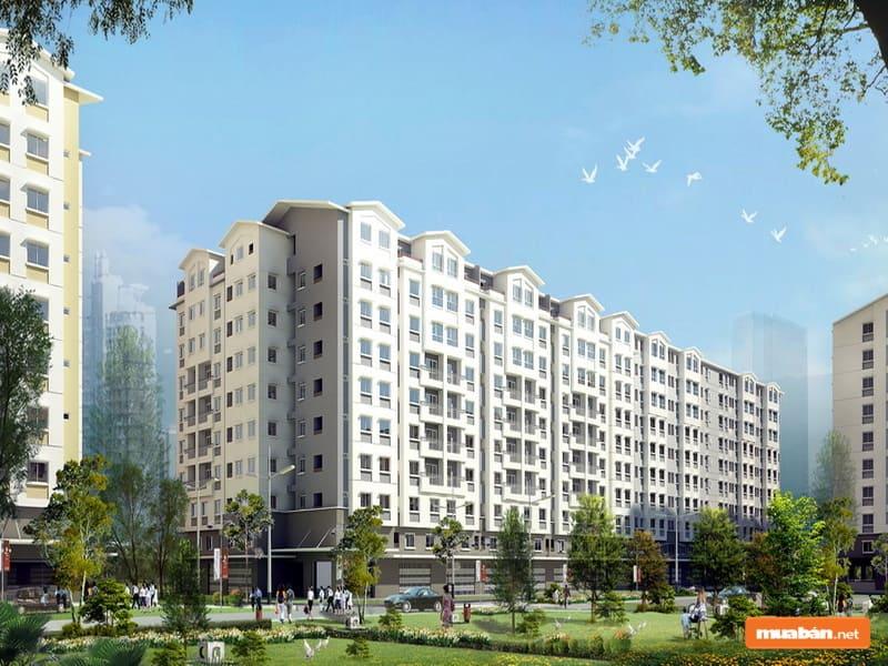 Ở thời điểm ra mắt, dự án đã phần nào giải tỏa cơn khát nhà thành phố