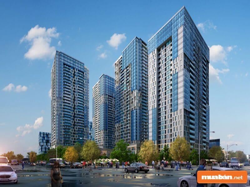 Nó được mệnh danh là New Manhattan giữa Hà Nội