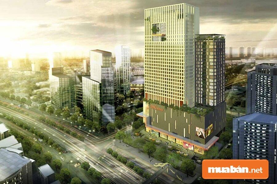 Dự án phức hợp Pearl Plaza bao gồm 32 tầng nổi và 4 tầng hầm.
