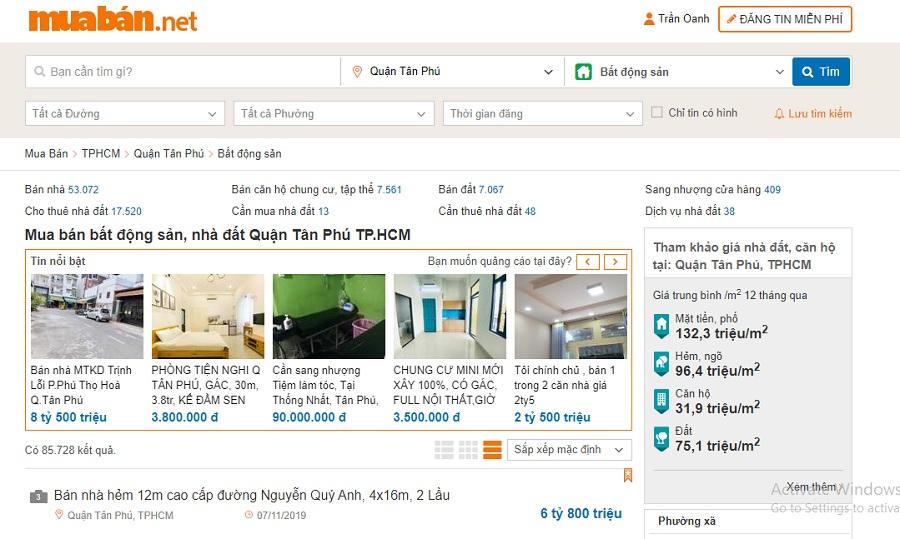 Website muaban.net sẽ cập nhật khá nhiều thông tin của các dự án hiện nay.