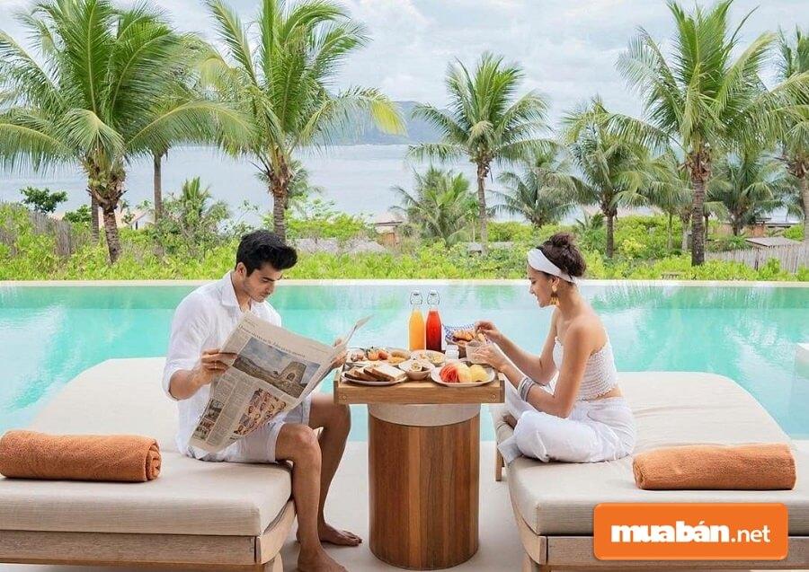 Six Senses Côn Đảo là nơi để thực khách trải nghiệm ẩm thực Á Âu