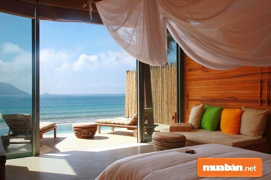 Six Senses Côn Đảo - Khu nghỉ dưỡng 5 sao đầu tiên và duy nhất tại quần đảo Côn Đảo gồm 35 phòng khách sạn dạng biệt thự loại một phòng ngủ và 15 biệt thự.