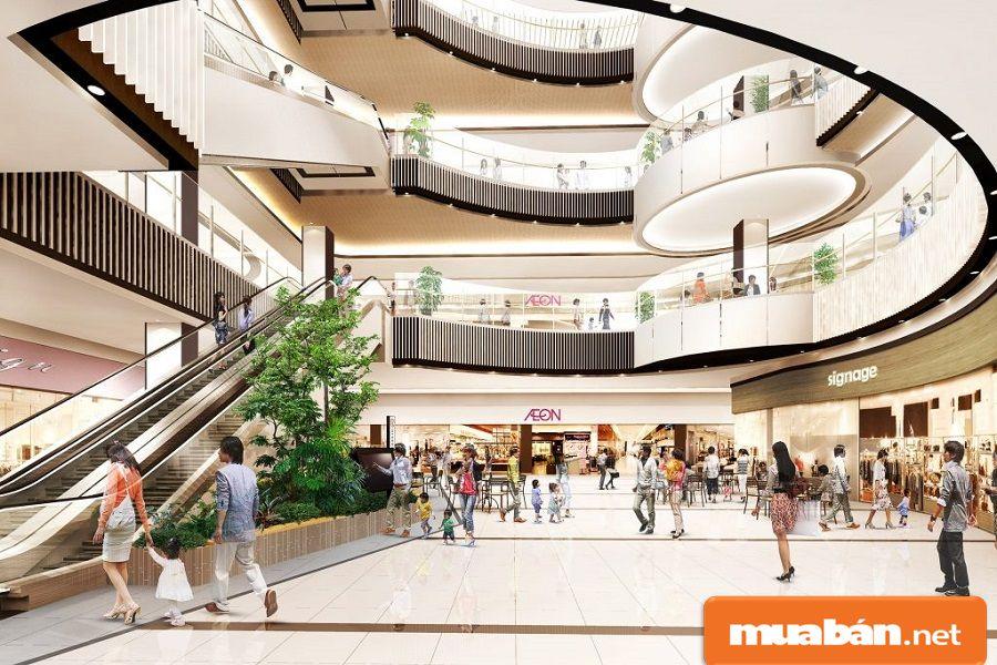 Các trung tâm thương mại, siêu thị được đầu tư và xây dựng khá nhiều tại quận Tân Phú.