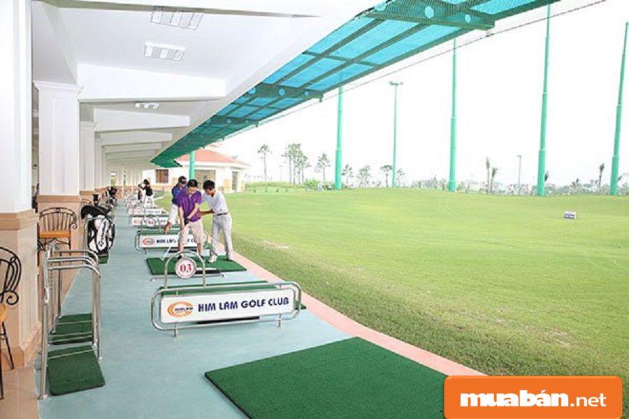 Khu vực thể thao được đầu tư xây dựng trong dự án.