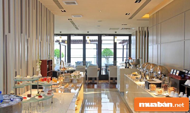 Không gian ẩm thực tại Hotel Nikko Saigon