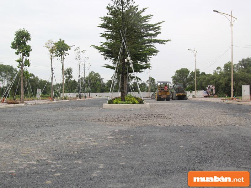 Khu vực nhà đất huyện Củ Chi được đầu tư đồng bộ, toàn diện