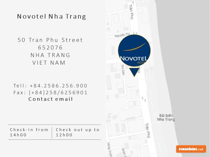 Novotel Nha Trang ở đâu?