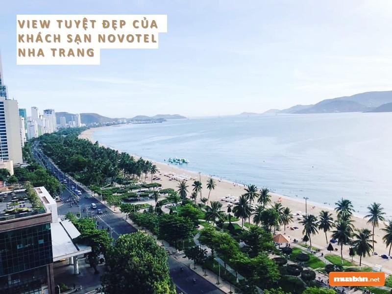 View biển của Novotel Nha Trang