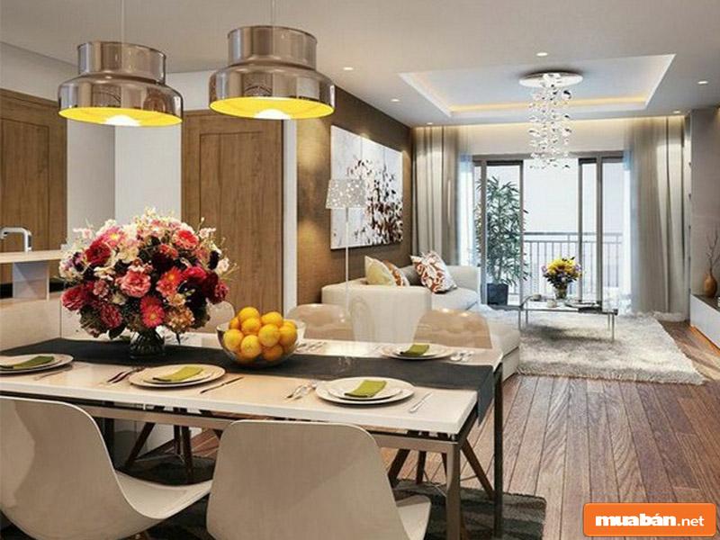 Trong mỗi tòa, các căn hộ được kiến trúc, thiết kế nội thất với diện tích khác nhau