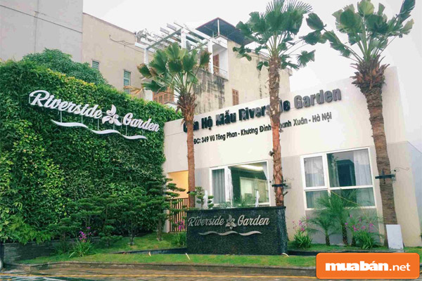 Chung cư Riverside Garden – chốn an cư lạc nghiệp